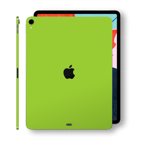 iPad PRO 11 inch 2018 Matt Matte Green Skin Wrap Sticker Decal Cover Protector by EasySkinz