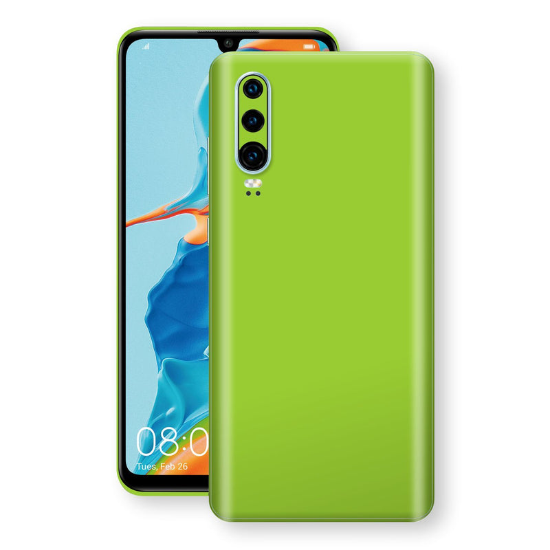Huawei P30 Green Matt Skin, Decal, Wrap, Protector, Cover by EasySkinz | EasySkinz.com