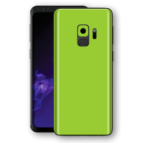 Samsung GALAXY S9 Green Matt Skin, Decal, Wrap, Protector, Cover by EasySkinz | EasySkinz.com