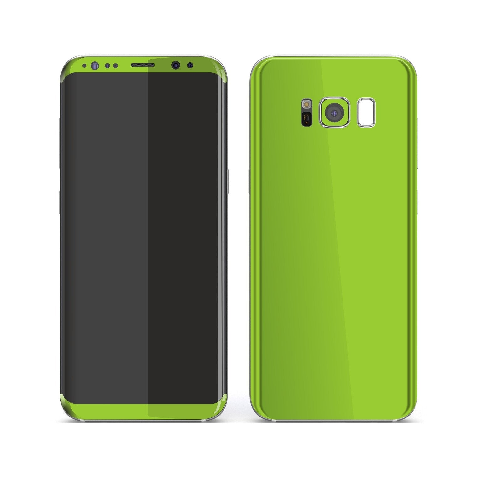 Samsung Galaxy S8+ Green Matt Skin, Decal, Wrap, Protector, Cover by EasySkinz | EasySkinz.com