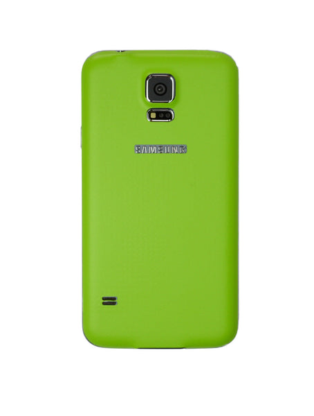 Samsung Galaxy S5 green skin