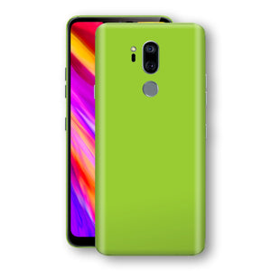 LG G7 ThinQ Green Matt Skin, Decal, Wrap, Protector, Cover by EasySkinz | EasySkinz.com