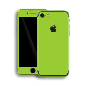 iPhone 7 Green Matt Matte Skin, Wrap, Decal, Protector, Cover by EasySkinz | EasySkinz.com