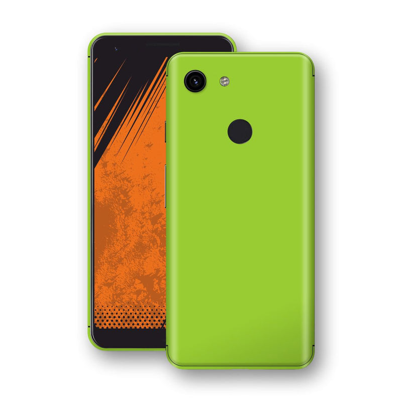 Google Pixel 3a Green Matt Skin, Decal, Wrap, Protector, Cover by EasySkinz | EasySkinz.com