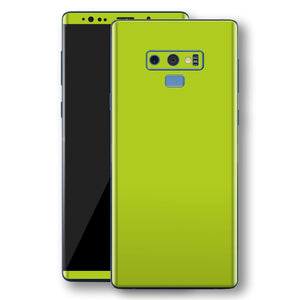 Samsung Galaxy NOTE 9 Green Matt Skin, Decal, Wrap, Protector, Cover by EasySkinz | EasySkinz.com