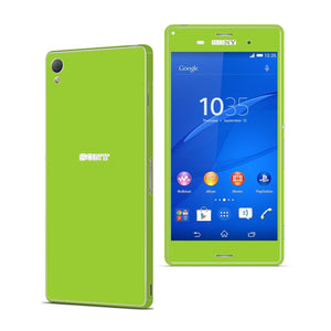 Sony Xperia Z3 GREEN Matt Skin Wrap Sticker Cover Decal Protector. By EasySkinz.