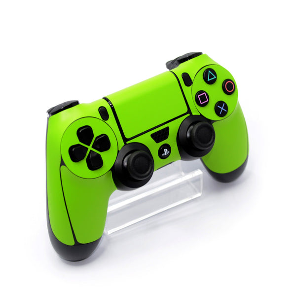 ps4 controller green matt skin