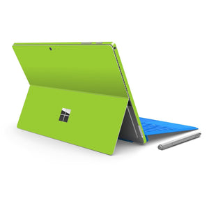 Microsoft Surface PRO 4 Green MATT Matte Skin Wrap Sticker Decal Cover Protector by EasySkinz