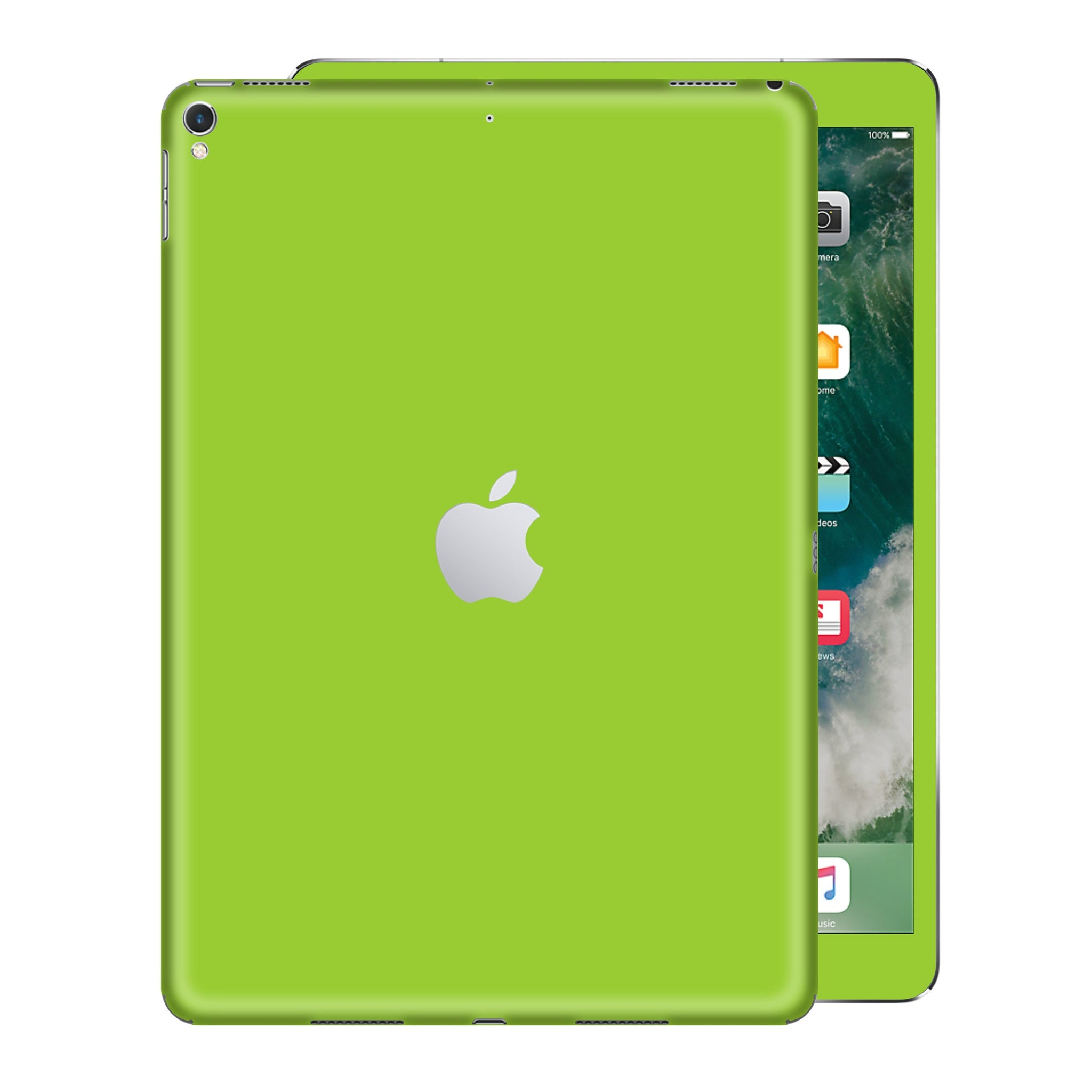 iPad PRO 12.9 inch 2017 Matt Matte Green Skin Wrap Sticker Decal Cover Protector by EasySkinz