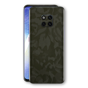 Huawei MATE 20 PRO Green Camo Camouflage 3D Textured Skin Wrap Decal Protector | EasySkinz