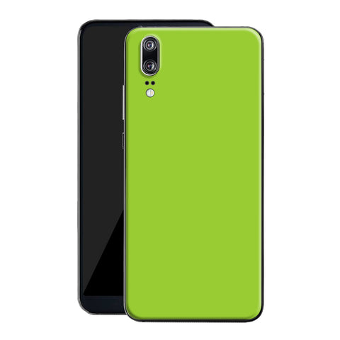 Huawei P20 Green Matt Skin, Decal, Wrap, Protector, Cover by EasySkinz | EasySkinz.com