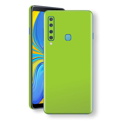 Samsung Galaxy A9 (2018) Green Matt Skin, Decal, Wrap, Protector, Cover by EasySkinz | EasySkinz.com