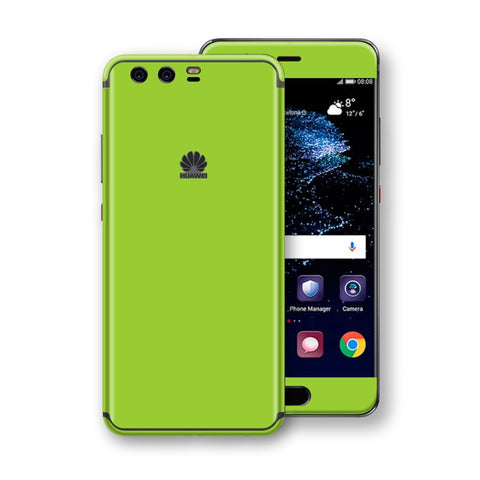 Huawei P10  Green Matt Skin, Decal, Wrap, Protector, Cover by EasySkinz | EasySkinz.com
