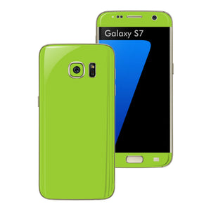 Samsung Galaxy S7 Green Matt Skin Wrap Decal Sticker Cover Protector by EasySkinz