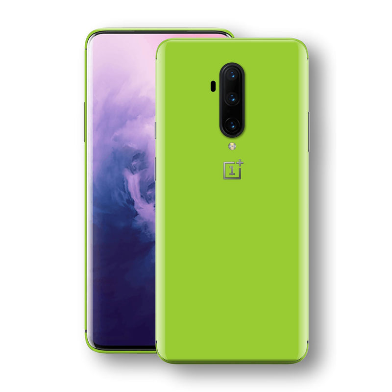 OnePlus 7T PRO Green Matt Skin, Decal, Wrap, Protector, Cover by EasySkinz | EasySkinz.com
