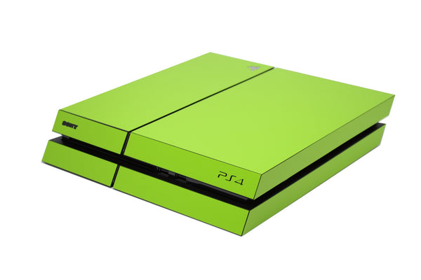 ps4 green matt full body skin
