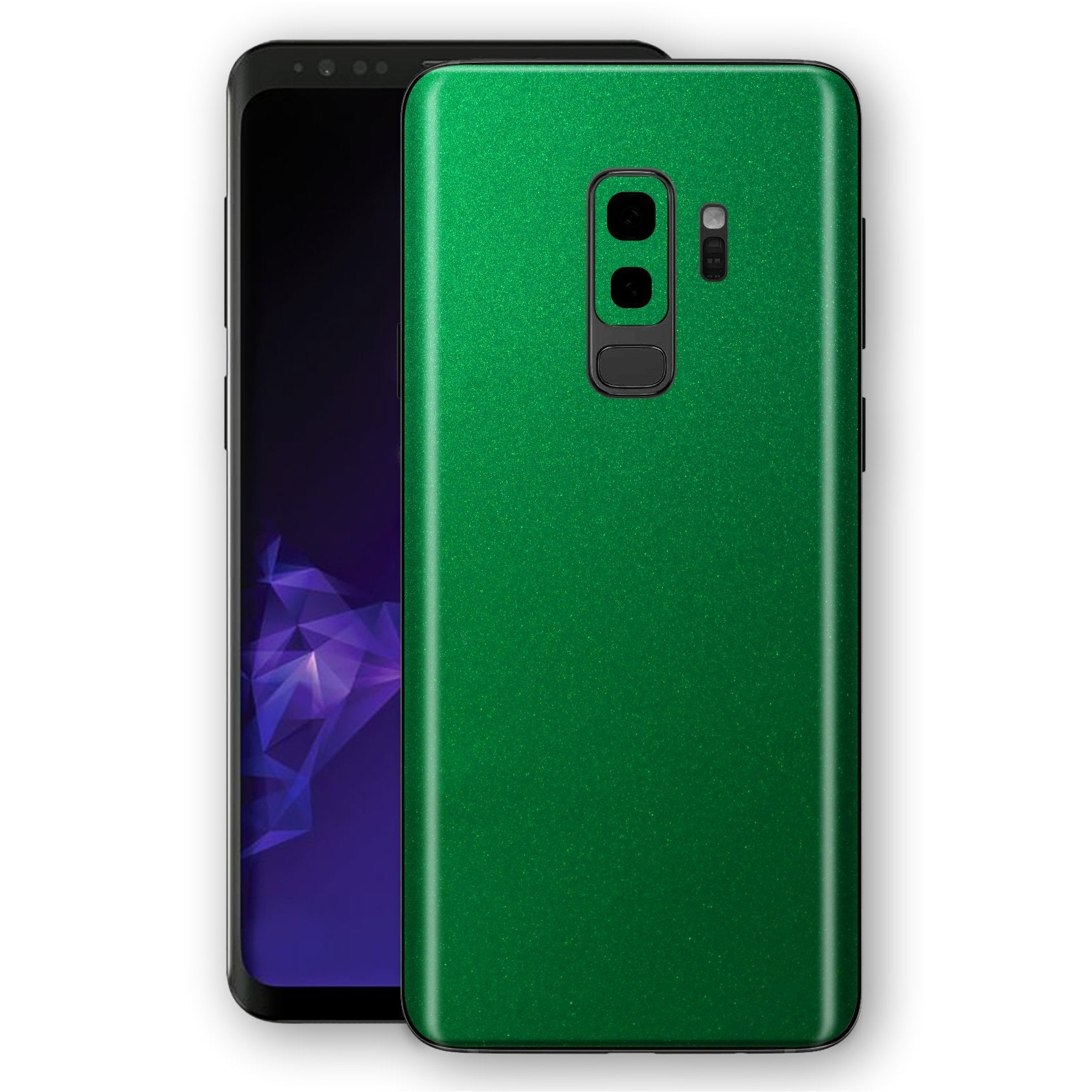 Samsung GALAXY S9+ PLUS Viper Green Tuning Metallic Skin, Decal, Wrap, Protector, Cover by EasySkinz | EasySkinz.com