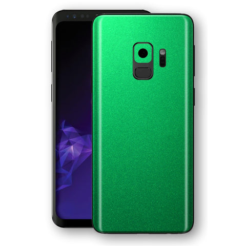 Samsung GALAXY S9 Viper Green Tuning Metallic Skin, Decal, Wrap, Protector, Cover by EasySkinz | EasySkinz.com