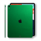 iPad PRO 11-inch 2018 Glossy 3M VIPER GREEN Metallic Skin Wrap Sticker Decal Cover Protector by EasySkinz