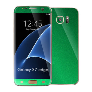 Samsung Galaxy S7 EDGE 3M Viper Green Tuning Metallic Skin Wrap Decal Sticker Cover Protector by EasySkinz