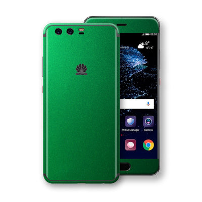 Huawei P10  Viper Green Tuning Metallic Skin, Decal, Wrap, Protector, Cover by EasySkinz | EasySkinz.com