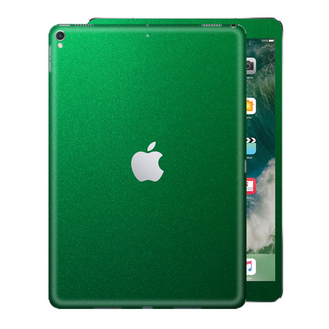 iPad PRO 12.9 inch 2017 Glossy 3M VIPER GREEN Metallic Skin Wrap Sticker Decal Cover Protector by EasySkinz