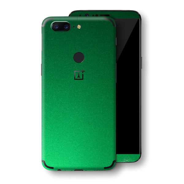 OnePlus 5T Viper Green Tuning Glossy Gloss Finish Skin, Decal, Wrap, Protector, Cover by EasySkinz | EasySkinz.com
