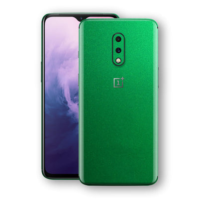 OnePlus 7 Viper Green Tuning Metallic Skin, Decal, Wrap, Protector, Cover by EasySkinz | EasySkinz.com