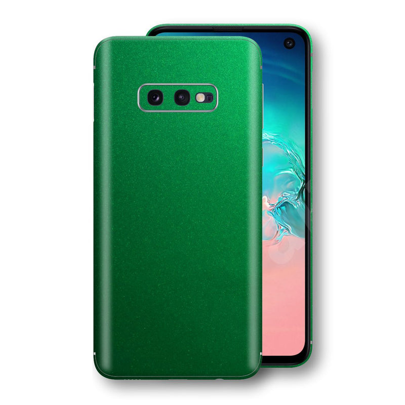 Samsung Galaxy S10e Viper Green Tuning Metallic Skin, Decal, Wrap, Protector, Cover by EasySkinz | EasySkinz.com