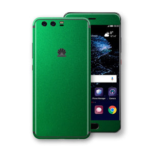 Huawei P10+ PLUS  Viper Green Tuning Metallic Skin, Decal, Wrap, Protector, Cover by EasySkinz | EasySkinz.com