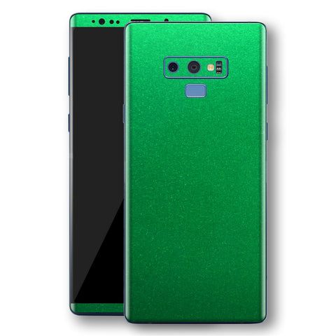 Samsung Galaxy NOTE 9 Viper Green Tuning Metallic Skin, Decal, Wrap, Protector, Cover by EasySkinz | EasySkinz.com