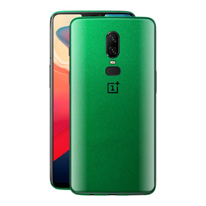 OnePlus 6 Viper Green Tuning Glossy Gloss Finish Skin, Decal, Wrap, Protector, Cover by EasySkinz | EasySkinz.com