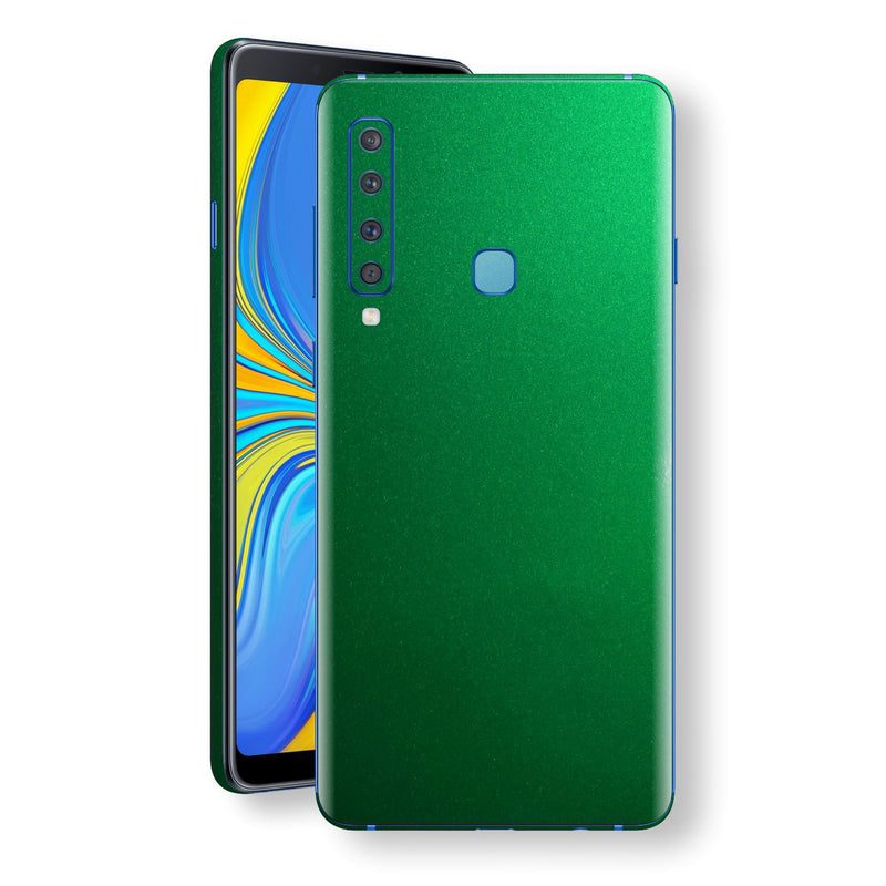 Samsung Galaxy A9 (2018) Viper Green Tuning Metallic Skin, Decal, Wrap, Protector, Cover by EasySkinz | EasySkinz.com