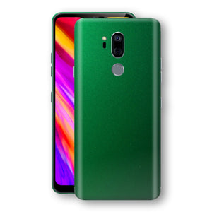 LG G7 ThinQ Viper Green Tuning Metallic Skin, Decal, Wrap, Protector, Cover by EasySkinz | EasySkinz.com