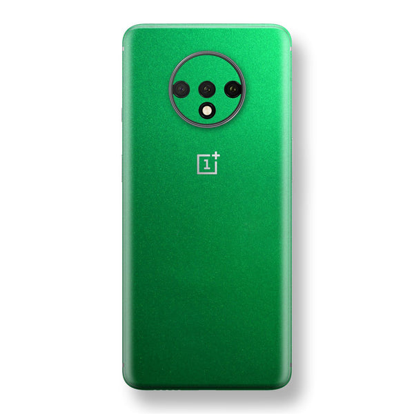 OnePlus 7T Viper Green Tuning Metallic Skin, Decal, Wrap, Protector, Cover by EasySkinz | EasySkinz.com