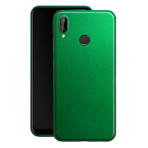 Huawei P20 LITE Viper Green Tuning Glossy Gloss Finish Skin, Decal, Wrap, Protector, Cover by EasySkinz | EasySkinz.com