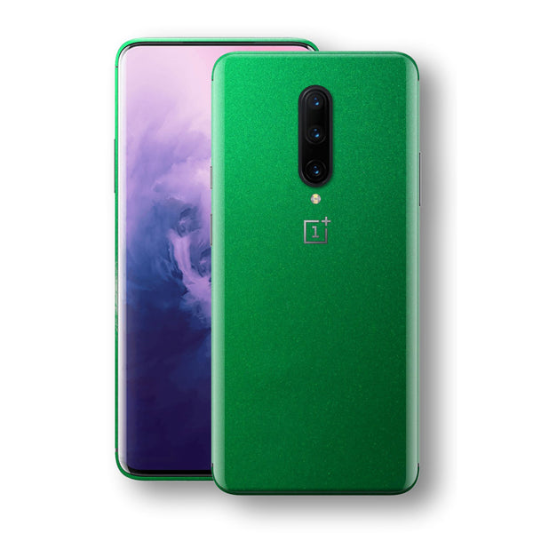 OnePlus 7 PRO Viper Green Tuning Metallic Skin, Decal, Wrap, Protector, Cover by EasySkinz | EasySkinz.com