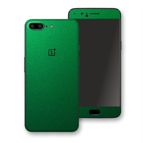 OnePlus 5 Viper Green Tuning Metallic Skin, Decal, Wrap, Protector, Cover by EasySkinz | EasySkinz.com