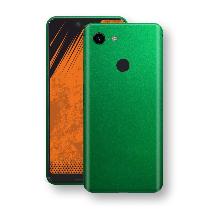 Google Pixel 3 XL Viper Green Tuning Metallic Skin, Decal, Wrap, Protector, Cover by EasySkinz | EasySkinz.com