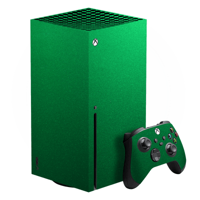 XBOX Series X Viper Green Tuning Metallic Skin, Wrap, Decal, Protector, Cover by EasySkinz | EasySkinz.com