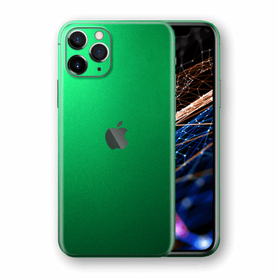 iPhone 11 PRO Viper Green Tuning Metallic Skin, Wrap, Decal, Protector, Cover by EasySkinz | EasySkinz.com  Edit alt text
