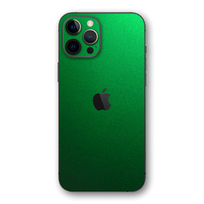 iPhone 12 PRO Viper Green Tuning Metallic Skin, Wrap, Decal, Protector, Cover by EasySkinz | EasySkinz.com