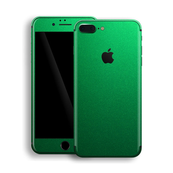 iPhone 8 Plus Viper Green Tuning Metallic Skin, Decal, Wrap, Protector, Cover by EasySkinz | EasySkinz.com