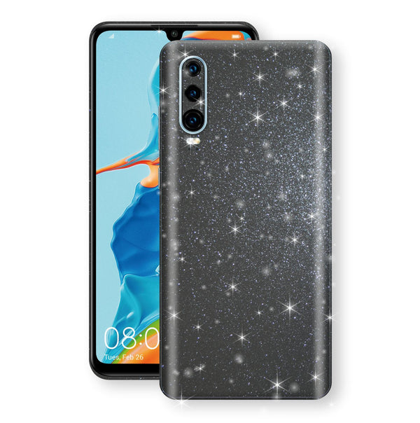 Huawei P30 Diamond Meteorite Shimmering, Sparkling, Glitter Skin, Decal, Wrap, Protector, Cover by EasySkinz | EasySkinz.com