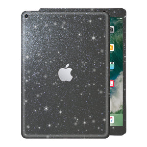 "iPad 9.7"" inch 5th Generation 2017 Diamond Meteorite Glitter Shimmering Skin Wrap Sticker Decal Cover Protector by EasySkinz"