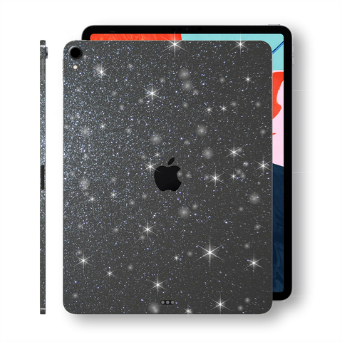 "iPad PRO 11"" inch 2018 Diamond METEORITE Glitter Shimmering Skin Wrap Sticker Decal Cover Protector by EasySkinz"
