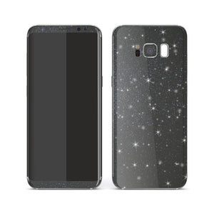 Samsung Galaxy S8 Diamond Meteorite Shimmering, Sparkling, Glitter Skin, Decal, Wrap, Protector, Cover by EasySkinz | EasySkinz.com