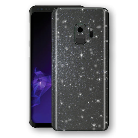 Samsung GALAXY S9 Diamond Meteorite Shimmering, Sparkling, Glitter Skin, Decal, Wrap, Protector, Cover by EasySkinz | EasySkinz.com