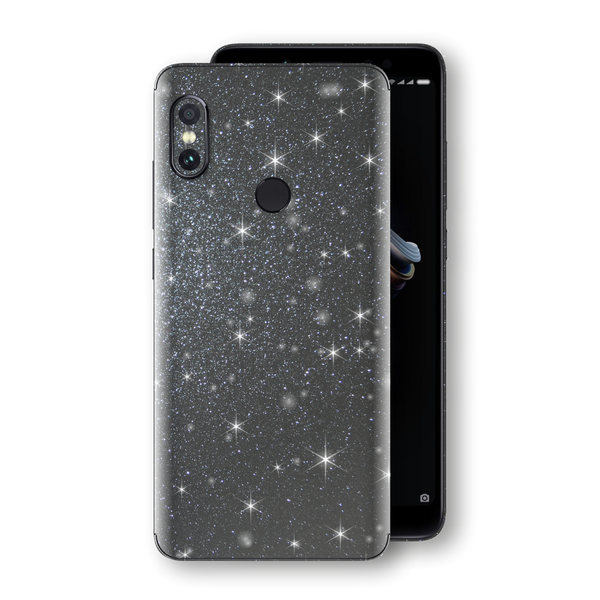 XIAOMI Redmi NOTE 5 Diamond Meteorite Shimmering, Sparkling, Glitter Skin, Decal, Wrap, Protector, Cover by EasySkinz | EasySkinz.com