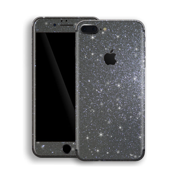 iPhone 8 Plus Diamond Meteorite Shimmering, Sparkling, Glitter Skin, Decal, Wrap, Protector, Cover by EasySkinz | EasySkinz.com